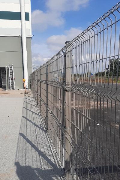 Recintha N/L Nuovadefim Orsogril la recinzione del polo logistico EST.35