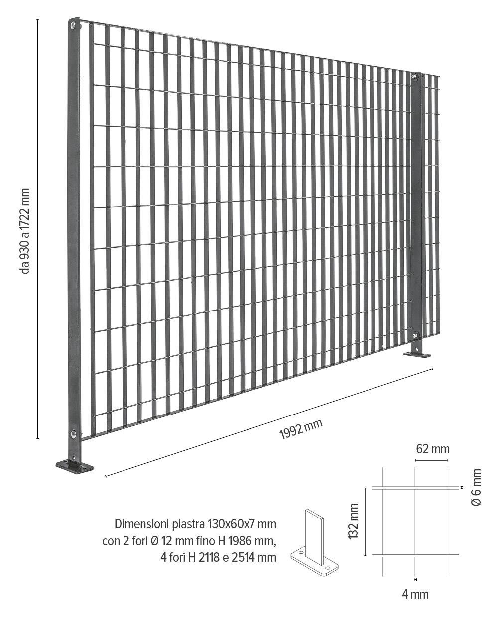 Britosterope - info tecniche recinzioni ad alta sicurezza