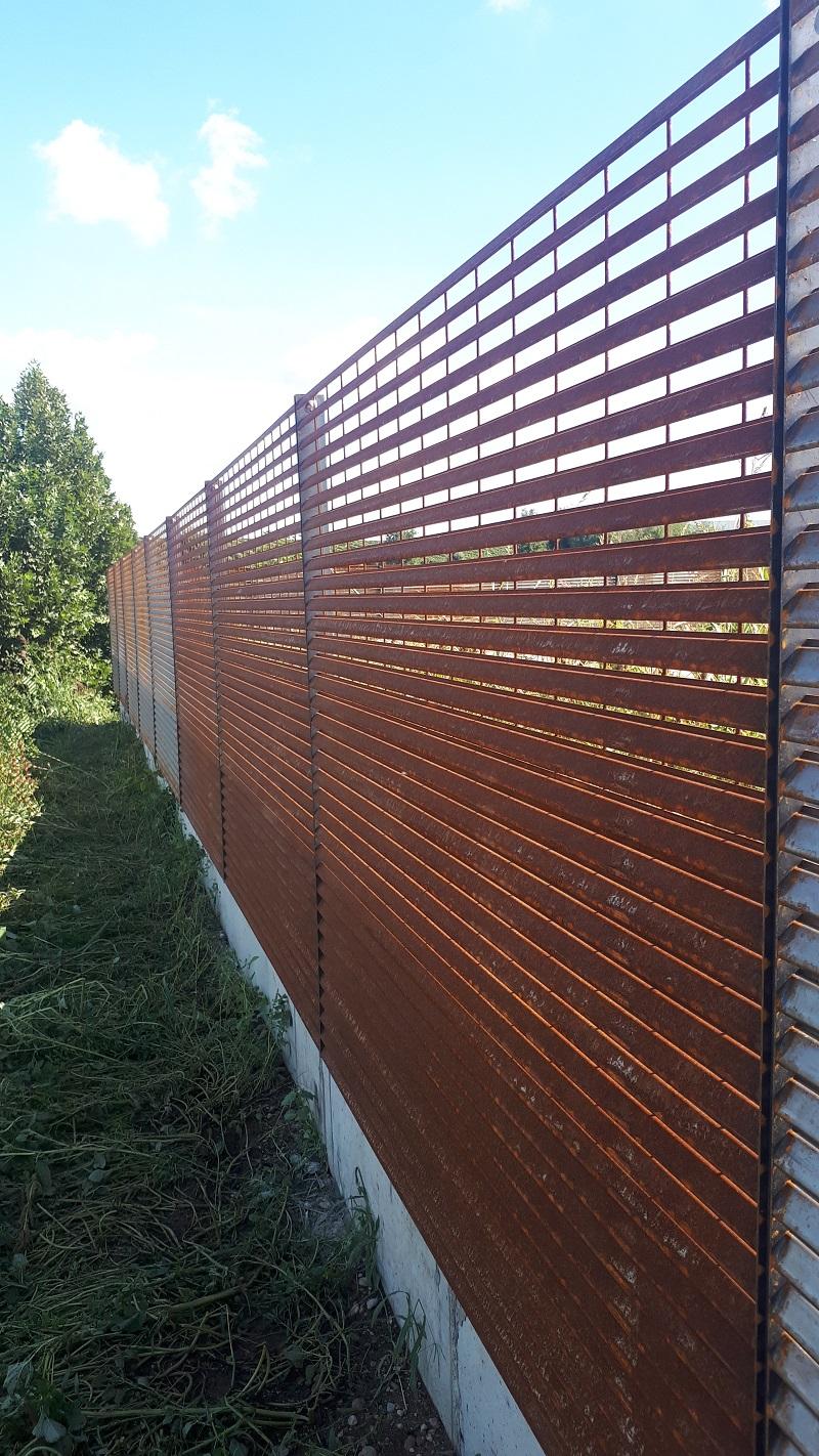 TALIALIVE | Privacy e sicurezza con la recinzione in COR-TEN