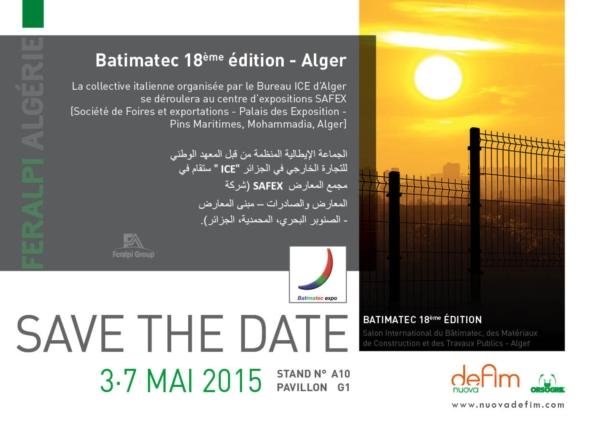 Batimatec 2015: focus su Algeria