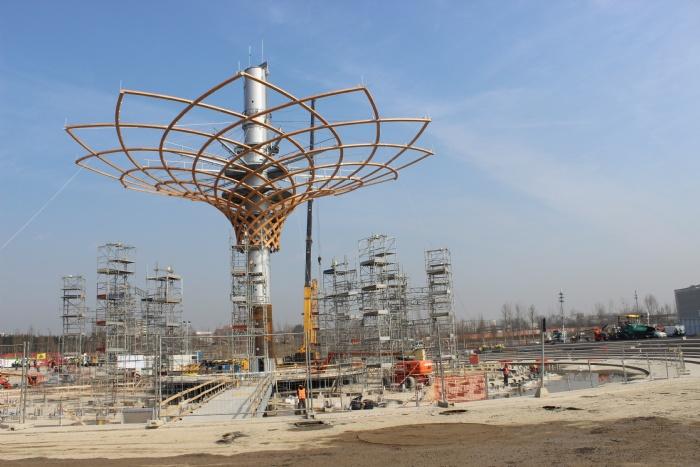 Nuova Defim Orsogril al servizio dell'Albero della Vita per Expo 2015