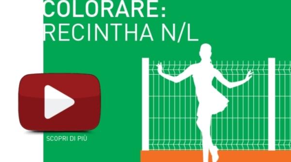 Le recinzioni colorate Nuova Defim Orsogril