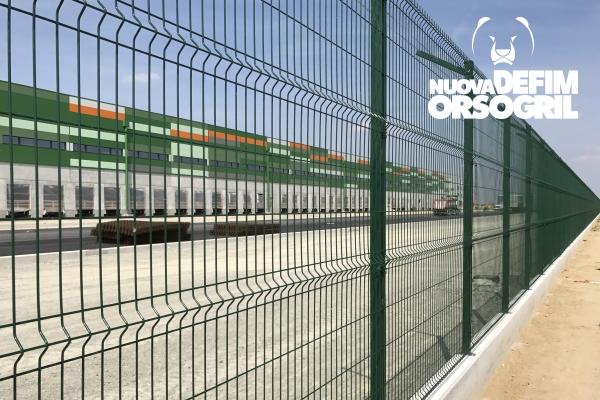 Amazon sceglie Recintha n/l per la sicurezza del nuovo stabilimento in Italia