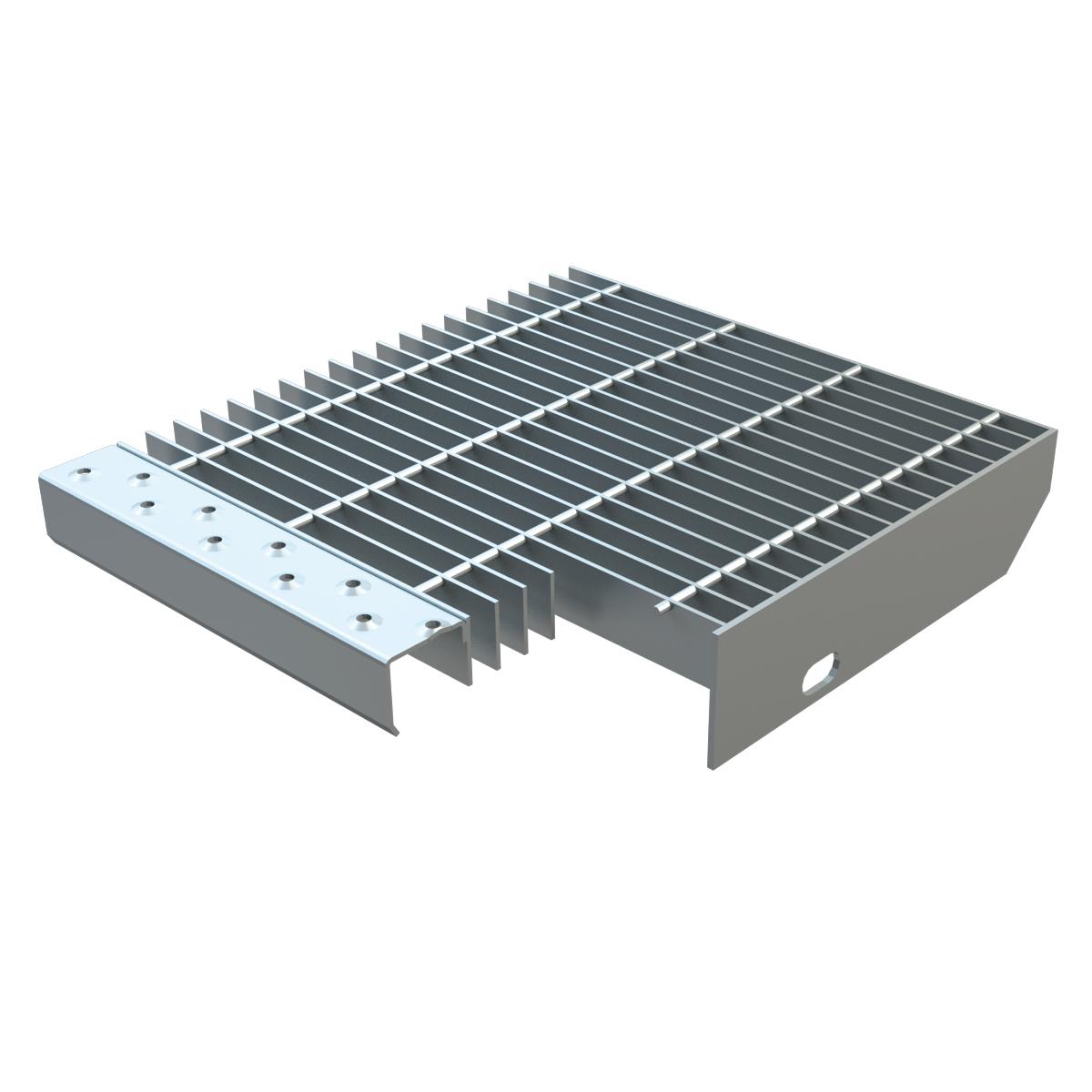 Defim orsogril grigliati gradini standard for Gradini per scale esterne