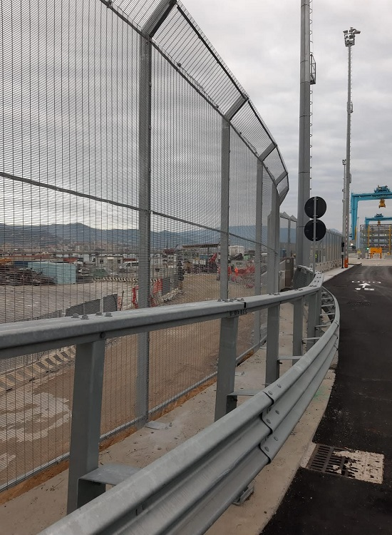 Recintha Safety | Installazione della recinzione ad alta sicurezza presso il porto di Vado Ligure