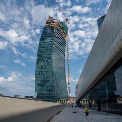 Utilior | grigliato pressato per torre PwC di Libeskind a Mi CityLife
