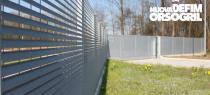 Recinzione a lamelle Talia: eleganza, privacy e sicurezza con la linearità