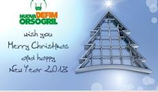 Nuova Defim Orsogril wish you happy holidays