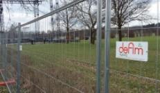 Defender HD, recinzioni mobili nel Parco di Monza per la visita di Papa Francesco