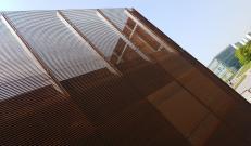 Maggiore luminosità con la facciata in TaliAlive e Talia open in acciaio corten