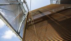 Facciata in acciaio corten TaliAlive Nuovadefim Orsogril Energy Park Vimercate