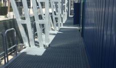 Grigliato Potissimum Edilizia per il Temporary Flexible Stadium Roma ATP 2019