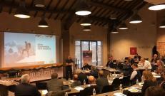 Marco Confortola al meeting di Nuova Defim Orsogril