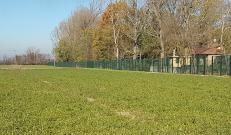 Lato est della proprietà con Recintha Safety MACS: recinzione allarmate intelligente