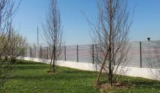 La recinzione a lamelle Talia di Nuova Defim Orsogril dal design ricercato