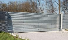 Cancello carrabile in Talia a garanzia di riservatezza e design