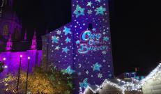 Città dei Balocchi Como: le proiezioni architetturali del Como Magic Light Festival