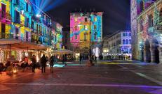 Città dei Balocchi Como: la magia delle luci in Piazza Duomo