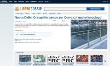 Nuova Defim Orsogril in campo per Como col nuovo lungo lago