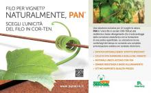 PAN l'unico filo per vigneti in COR-TEN