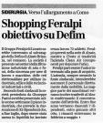 Shopping Feralpi, obiettivo su Defim
