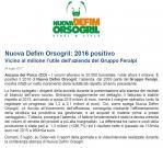 Nuova Defim Orsogril bilancio 2016 positivo