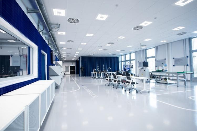 Il laboratorio visto nel suo insieme