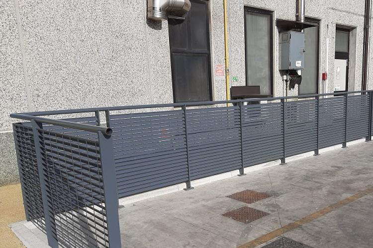 Scala di sicurezza, schermatura e recinzione Talia di Nuova Defim Orsogril