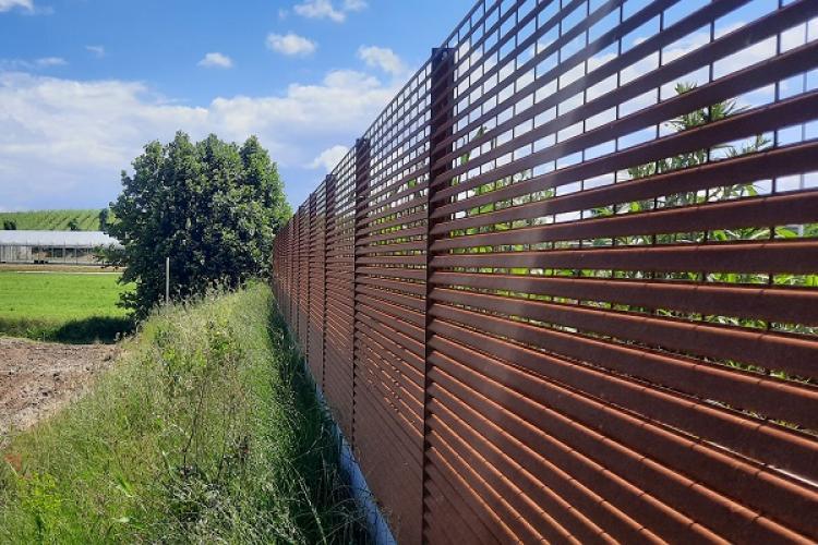 TaliAlive la recinzione in acciaio Corten ecocompatibile