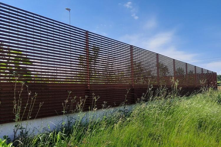 TaliAlive l'esclusiva recinzione in COR-TEN di Nuova Defim Orsogril