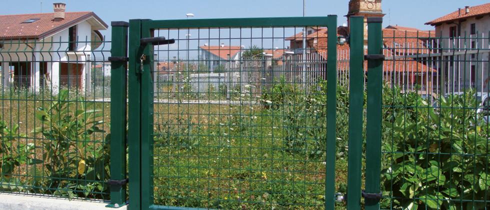 Cancello verde Flash