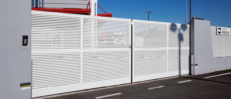 Cancello Bianco Sg
