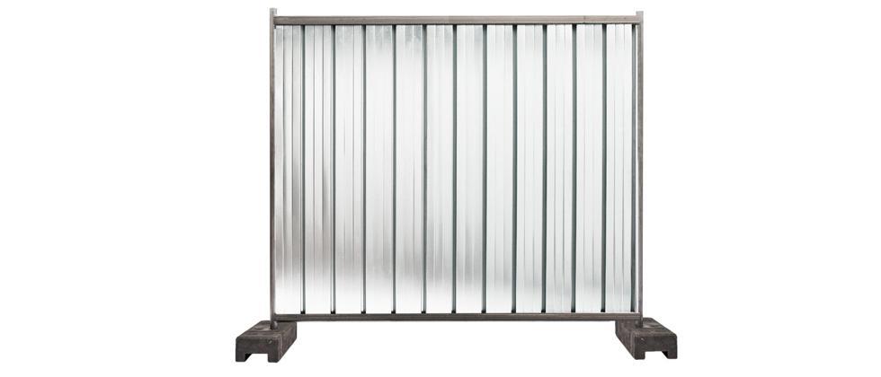 Defender City: recinzioni da cantiere mobili