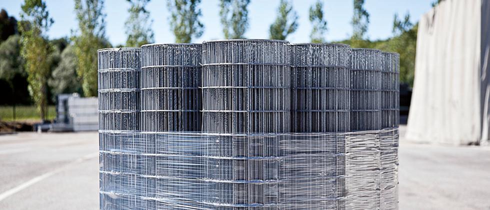 Defim Roll: rete zincata elettrosaldata