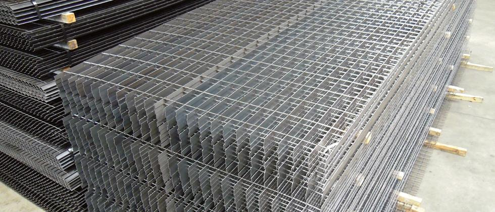Vertical Semi-finished Grating