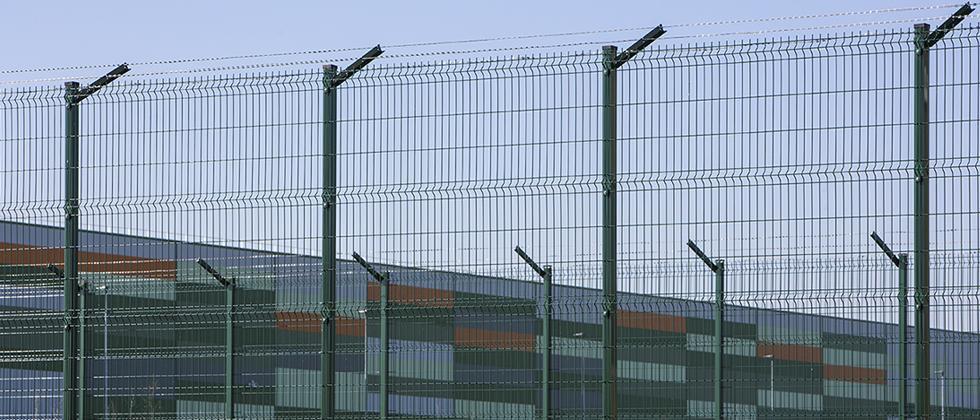 Recinzioni verde in rete elettrosaldata Recintha N/L