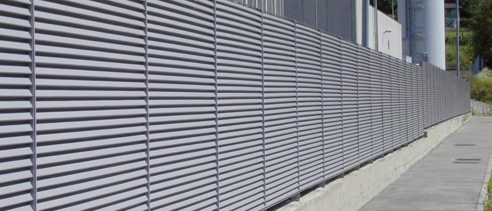 recinzione esterna a lamelle Talia Ventus Screen