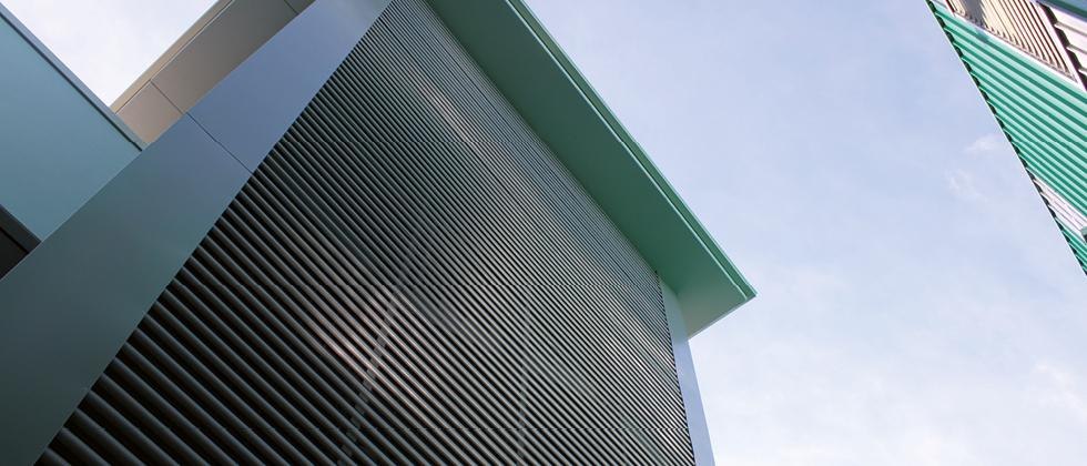 Rivestimenti di facciata metallici Teti