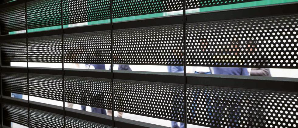 Dettaglio Teti - Rivestimenti di facciata metallici
