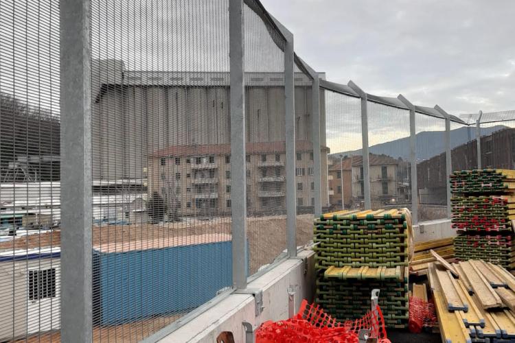 Recintha Safety | Installation de la clôture de haute sécurité au port de Vado Ligure SV