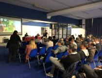 Nuovadefim e Vignetinox presentano il filo in acciaio corten per vigneti al RIVE 2018