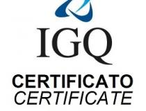 Certifications renewal IGQ and IQNet