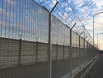 Nuova Defim Orsogril, high security-fencing for Bologna Airport